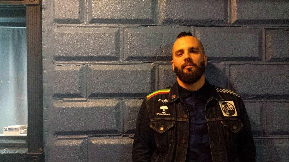 Jesse Leach at The Parlour in Providence, R.I. Photo by Alex Lindsay
